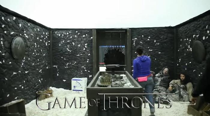 Escape room de juego de tronos
