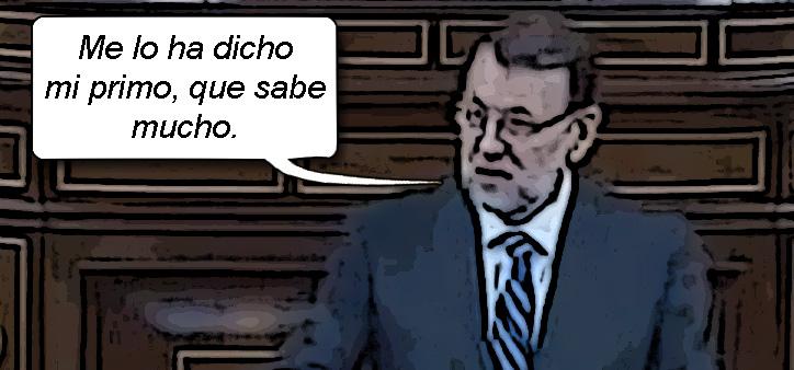 Mariano Rajoy mi primo el del cambio climatico